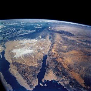 Dünya Uzaydan Görünüm 2 Dünya & Uzay Kanvas Tablo