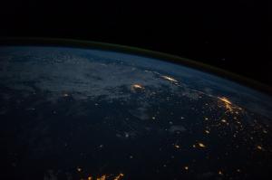 Dünyanın Fotoğrafı Dünya & Uzay Kanvas Tablo