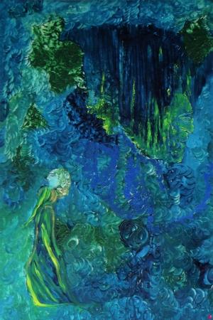 Düşünceler-2 Soyut Abstract Sanat Kanvas Tablo