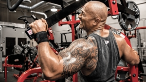Dwayne Johnson Body Gym Spor Kanvas Tablo