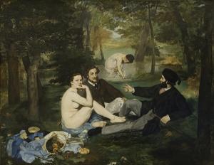 Edouard Manet Yağlı Boya Sanat Kanvas Tablo