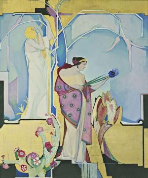 Edward Steichen Nü Yağlı Boya Klasik Sanat Canvas Tablo