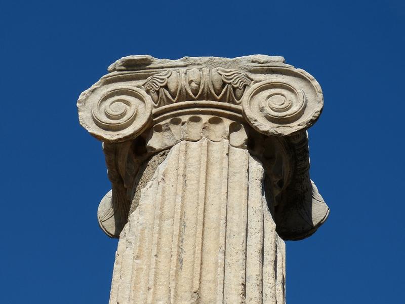 Efes Sütunları Unesco Dünya Kültür Mirasları Kanvas Tablo