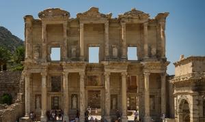 Efes Tapınakları Dünyaca Ünlü Şehirler Kanvas Tablo
