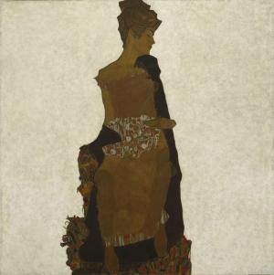 Egon Schiele  Gerti Schiele Yağlı Boya Klasik Sanat Canvas Tablo
