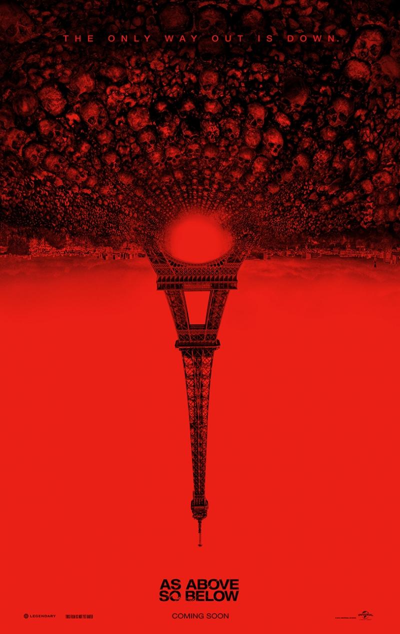 Eiffel Kulesi As Abowe So Below Afiş Tablo