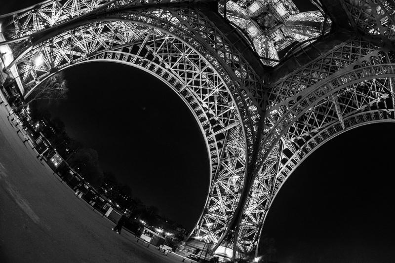 Eiffel Kulesi Paris Dünyaca Ünlü Şehirler Kanvas Tablo