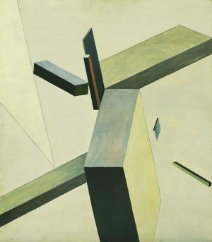El Lissitzky Kompozisyon Yağlı Boya Klasik Sanat Kanvas Tablo