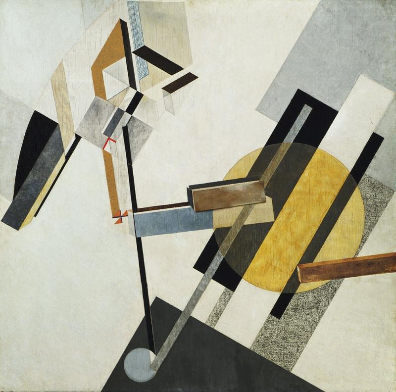 El Lissitzky Yağlı Boya Klasik Sanat Kanvas Tablo