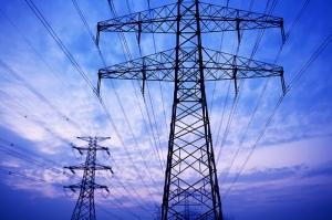 Elektrik Hatları Fotoğraf Kanvas Tablo