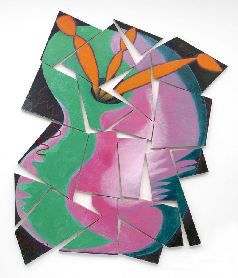 Elizabeth Murray Ressam Soyut Yağlı Boya Klasik Sanat Kanvas Tablo