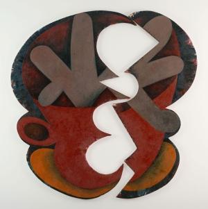 Elizabeth Murray Soyut 1 Yağlı Boya Klasik Sanat Kanvas Tablo