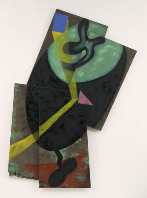 Elizabeth Murray Soyut Yağlı Boya Klasik Sanat Canvas Tablo