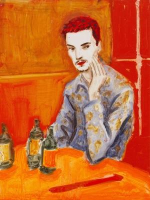 Elizabeth Peyton Jake  Yağlı Boya Klasik Sanat Canvas Tablo