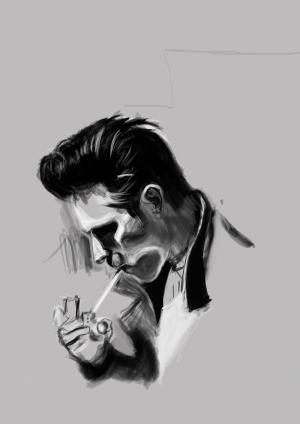 Elvis Presley Ünlü Yüzler Kanvas Tablo