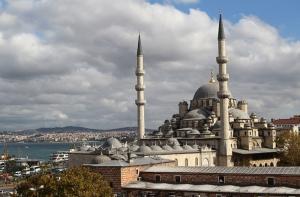 Eminönü Camii Dini & İnanç Kanvas Tablo
