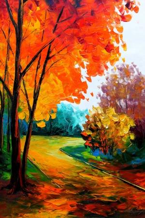 En Güzel Doğa Manzaraları, Dekoratif Kanvas Tablo