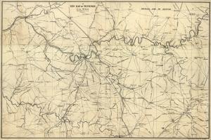 Eski Çizim Denizcilik Dünya Haritası-7 Kanvas Tablo