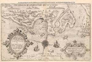 Eski Çizim Denizcilik Dünya Haritası Kanvas Tablo