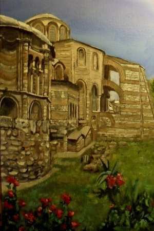 Eski Kilise, istanbul, Dini dekoratif Kanvas Tablo