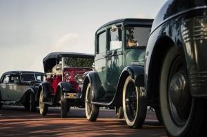 Eski Klasik Arabalar Araçlar Kanvas Tablo