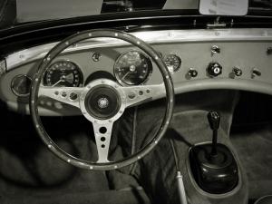 Eski Klasik Otomobil Araçlar Kanvas Tablo