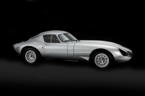 Eski Klasik Yarış Otomobil Gri Siyah Kanvas Tablo