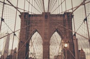 Eski Köprü Dünyaca Ünlü Şehirler Kanvas Tablo