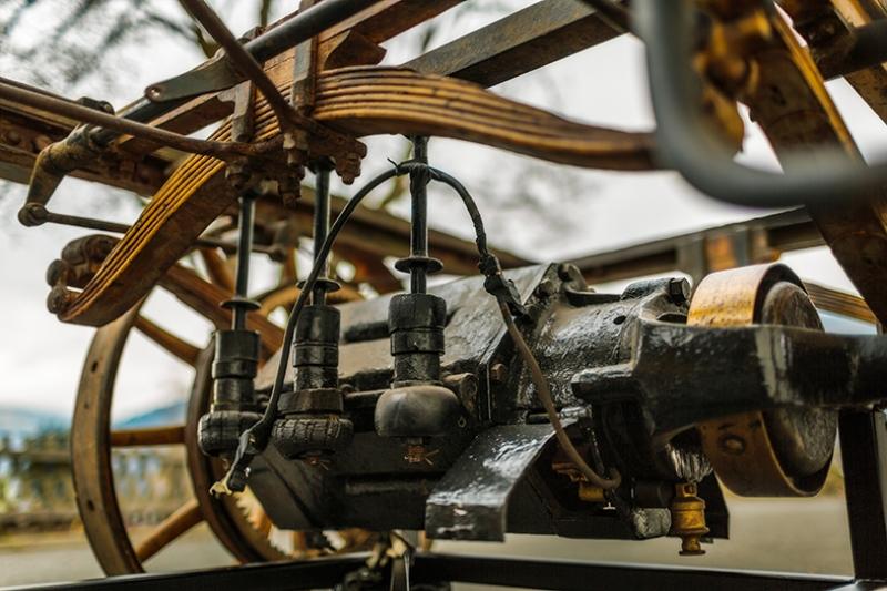 Eski Otomobil Makro Nostalji Kanvas Tablo