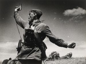 Eski Savaş Askeri Kanvas Tablo