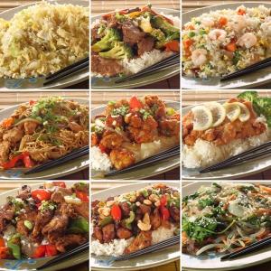 Et ve Sebze Yemekleri Panosu Lezzetler Kanvas Tablo