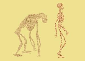 Evrim Teorisi Popüler Kültür Kanvas Tablo