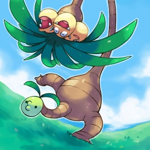 Exeggutor 1 Pokemon Karekterleri Pokemon Kanvas Tablo