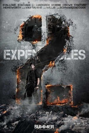 Expendables-2 Final Film Afişi Sinema Kanvas Tablo
