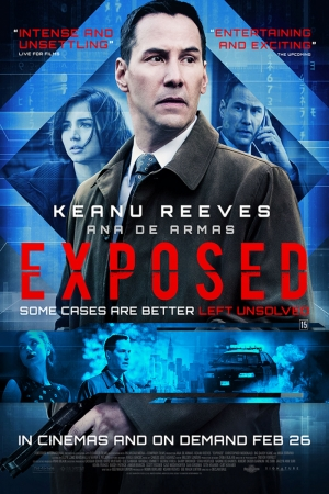 Exposed Yeni Film Afişi Sinema Kanvas Tablo