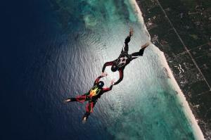 Extreme Sporlar Paraşüt Dalış Spor Kanvas Tablo