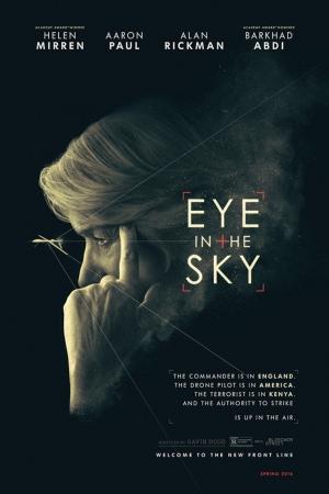 Eye In The Sky- Film Afişi Sinema Kanvas Tablo