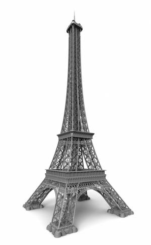 Eyfel Kulesi Fotoğraf Kanvas Tablo