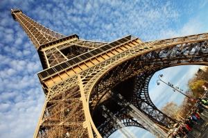 Eyfel Kulesi Paris 5 Dünyaca Ünlü Şehirler Kanvas Tablo