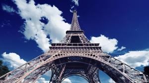 Eyfel Kulesi Paris Dünyaca Ünlü Şehirler Kanvas Tablo