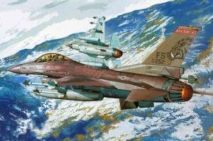 F16 Amerika Savas Ucaklari Yagli Boya Sanat Kanvas Tablo