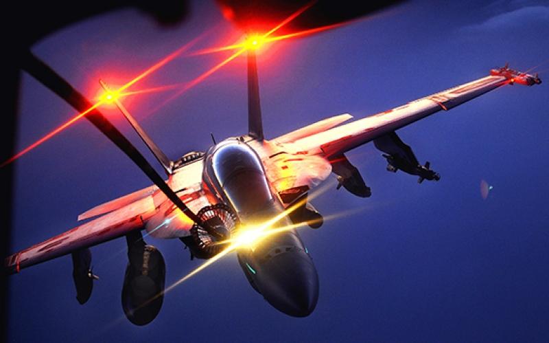 F18 Jet Uçak Savaş Gökyüzü