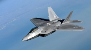 F22 Raptor Askeri Kanvas Tablo