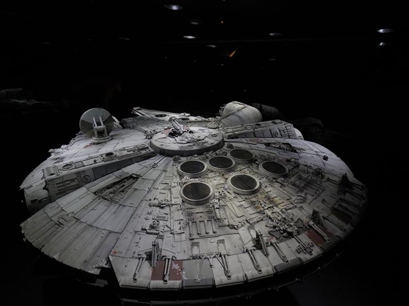 Falcon Star Wars Kanvas Tablo 2