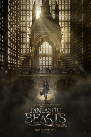 Fantastic Beasts Where Find Them-2016 Sinema Kanvas Tablo