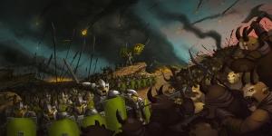 Fantastik Savaş 2 Bebek & Çocuk Dünyası Kanvas Tablo