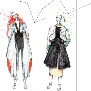 Fashion Moda-105 Sanatsal Modern Dekorasyon Kanvas Tabloları