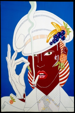Fashion Moda-109 Sanatsal Modern Dekorasyon Kanvas Tabloları
