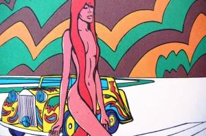 Fashion Moda-117 Sanatsal Modern Dekorasyon Kanvas Tabloları