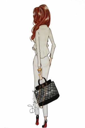 Fashion Moda-12 Sanatsal Modern Dekorasyon Kanvas Tabloları